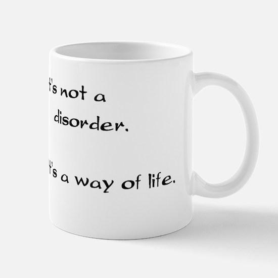 no disorder Mugs
