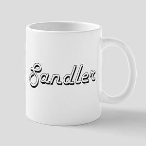 Sandler surname classic design Mugs