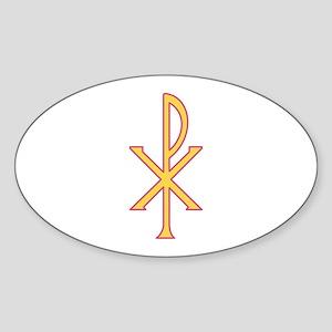 Christ Symbol Sticker