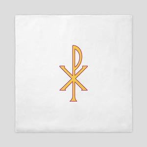 Christ Symbol Queen Duvet