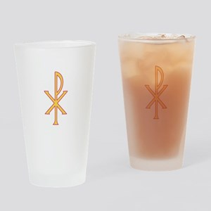 Christ Symbol Drinking Glass