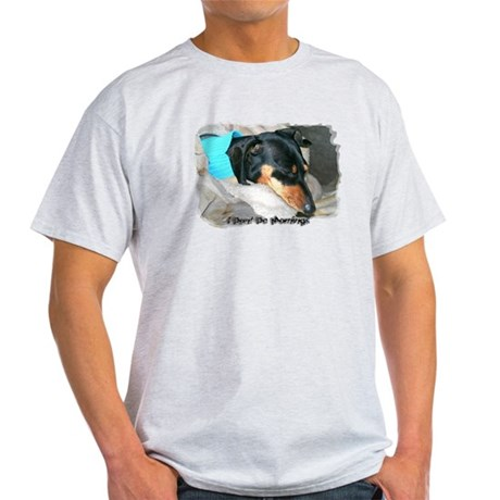 I Dont Do Mornings Doxie Light T-Shirt