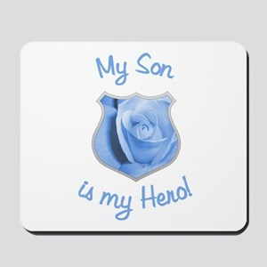 Son Police Hero Mousepad