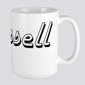 Russell surname classic design Mugs