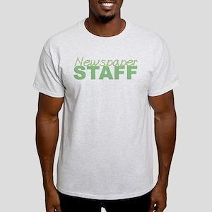 Newspaper Staff Light T-Shirt