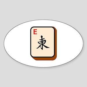 Mahjong East Sticker