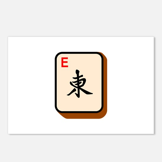 Mahjong East Postcards (Package of 8)