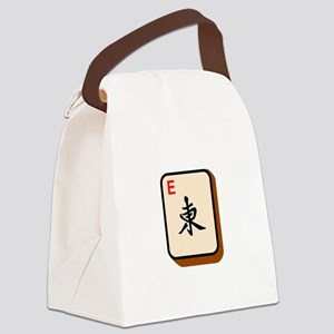 Mahjong East Canvas Lunch Bag