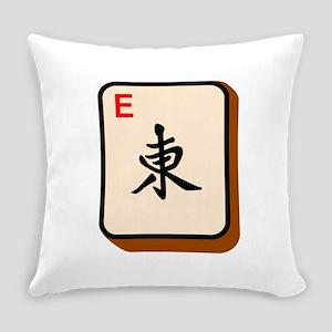 Mahjong East Everyday Pillow