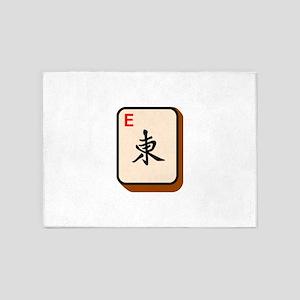 Mahjong East 5'x7'Area Rug