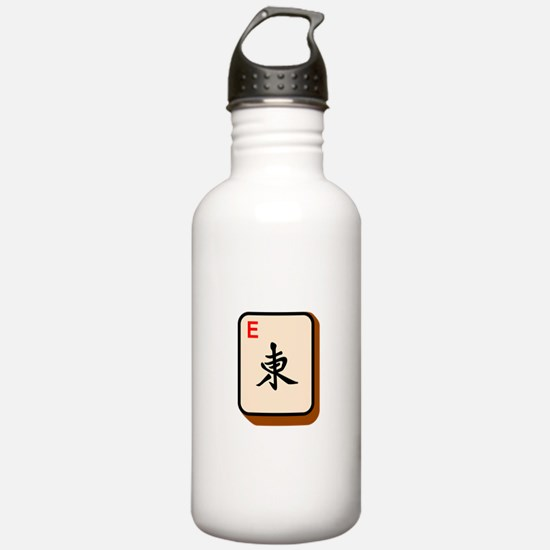 Mahjong East Water Bottle