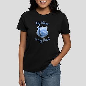 Niece Police Hero Women's Dark T-Shirt