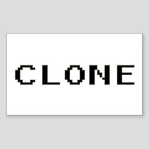 Clone Rectangle Sticker