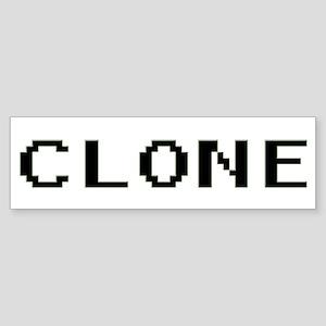 Clone Bumper Sticker