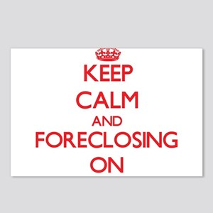 Keep Calm and Foreclosing Postcards (Package of 8)