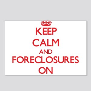 Keep Calm and Foreclosure Postcards (Package of 8)