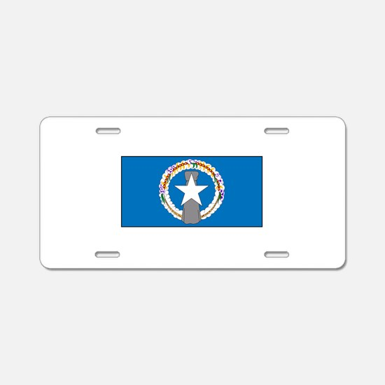 Northern Mariana Islands Aluminum License Plate