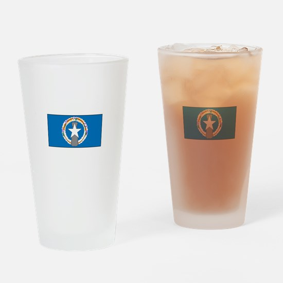 Northern Mariana Islands Drinking Glass