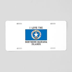 Northern Mariana Islands Aluminum License Plate