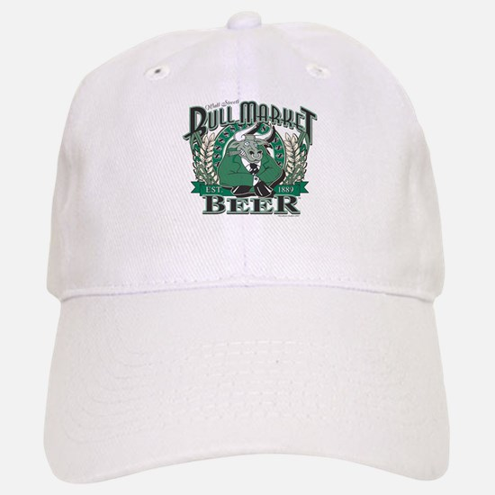 Bull Market Baseball Baseball Cap