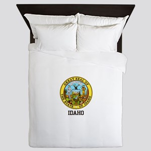 Idaho State Seal Queen Duvet