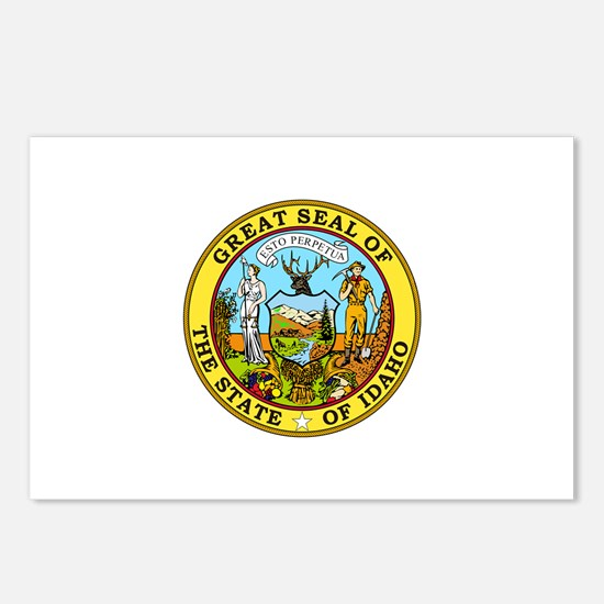Idaho State Seal Postcards (Package of 8)