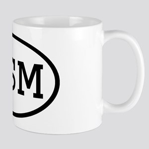 GSM Oval Mug