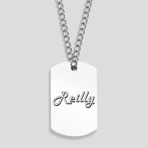 Reilly surname classic design Dog Tags