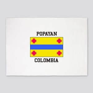 Popayan Colombia 5'x7'Area Rug