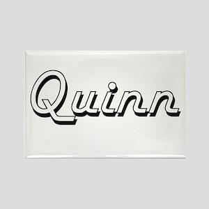 Quinn surname classic design Magnets