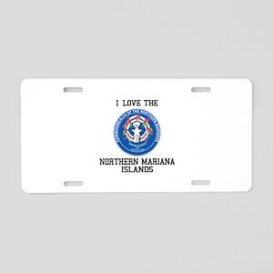 Northern Mariana Territory Aluminum License Plate
