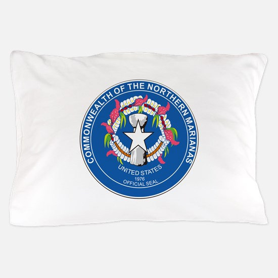 Northern Mariana Seal Pillow Case