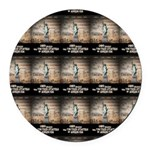 Battle For Religious Liberty Round Car Magnet