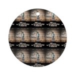 Battle For Religious Liberty Ornament (Round)