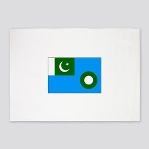 Pakistani Air Force Flag 5'x7'Area Rug