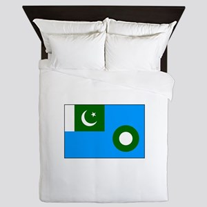 Pakistani Air Force Flag Queen Duvet