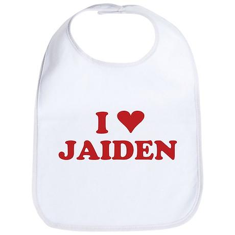 I LOVE JAIDEN Bib