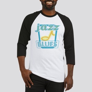 Blues and Jazz Baseball Jersey