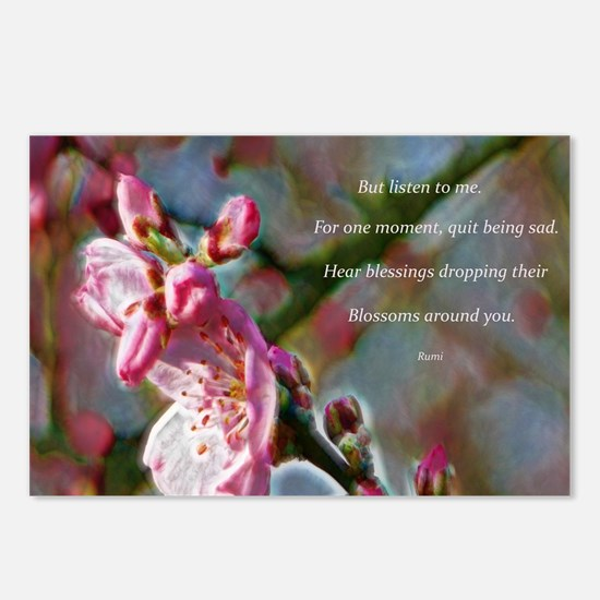 Poem from Rumi Postcards (Package of 8)