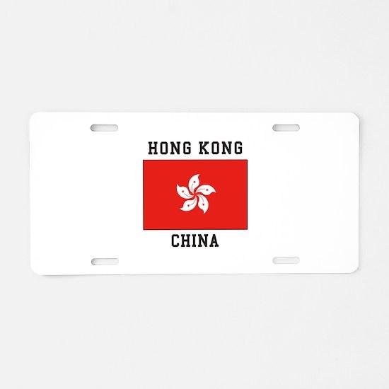 Hong Kong, China Aluminum License Plate