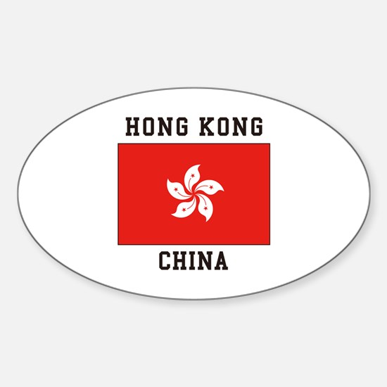 Hong Kong, China Decal