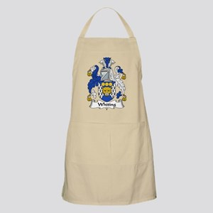 Whiting Family Crest BBQ Apron