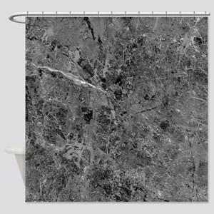 Blackstone Cracking Shower Curtain