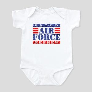 Proud Air Force Nephew Infant Bodysuit