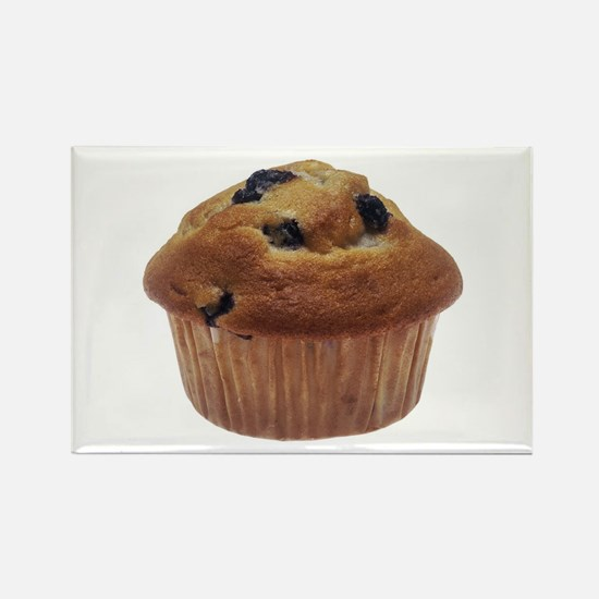 Blueberry Muffin Rectangle Magnet