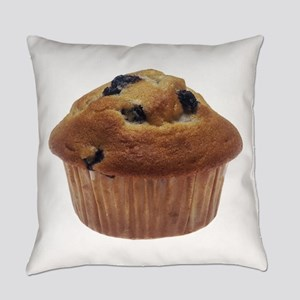 Blueberry Muffin Everyday Pillow