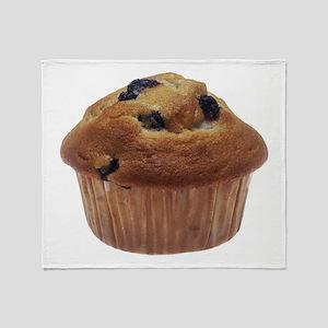 Blueberry Muffin Throw Blanket