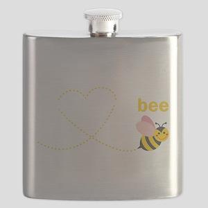 Grandpa To Bee Flask