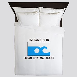 Ocean City, Maryland Queen Duvet
