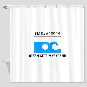 Ocean City, Maryland Shower Curtain